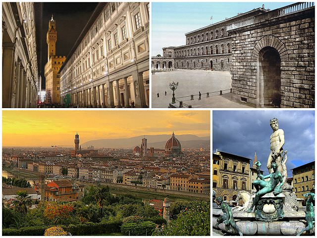 Colaj cu Florența sau Firenze