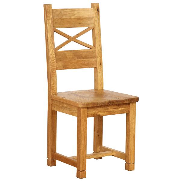 scaun de lemn de stejar