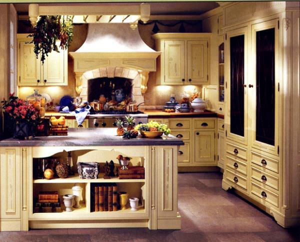 bucatarie cu design french - bucataria franceza