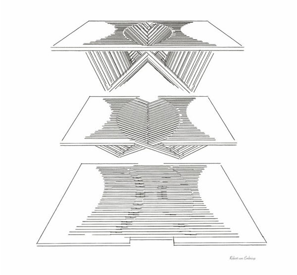 proiectarea mesei Rising Table