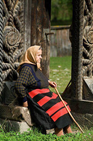 poarta maramureseana - satul romanesc