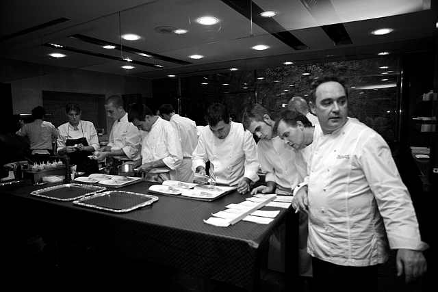 chef Carlos Aparicio 3 stele Michelin