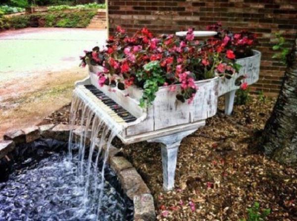 cascada din pian