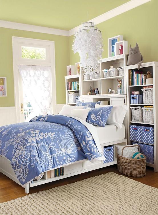 dormitor in nuante calde - culori de vara