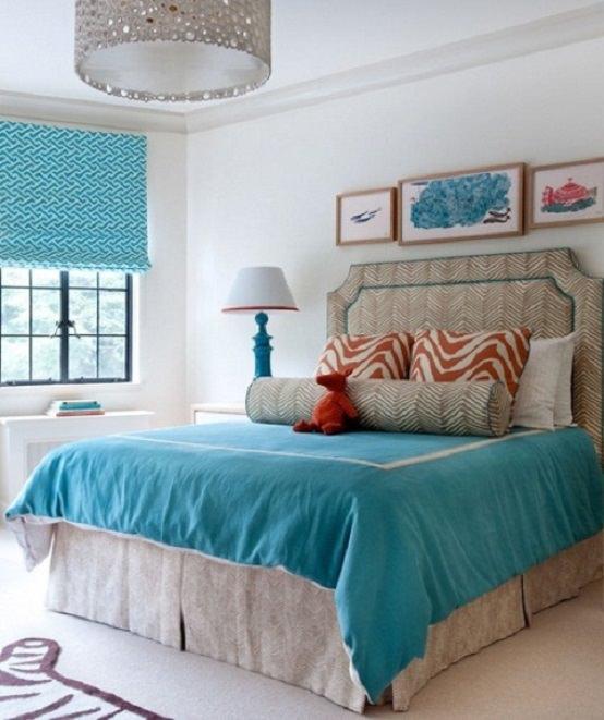 nuante turcoaz in casa ta - culori de vara - albastrul verde