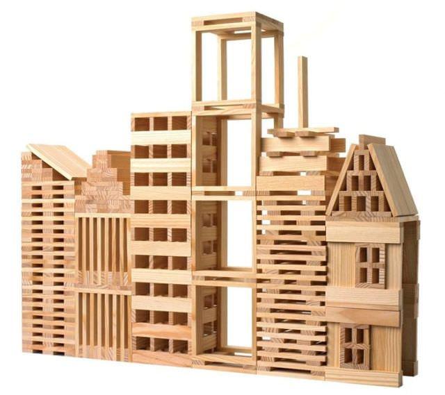lego de lemn