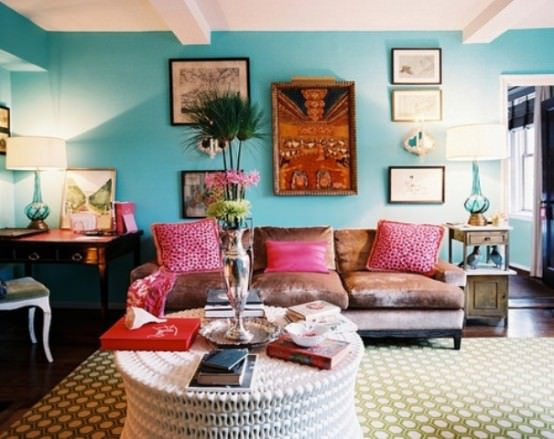 boho chic in design interior