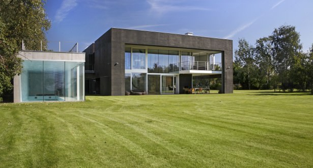 casa transformabila cubica din beton