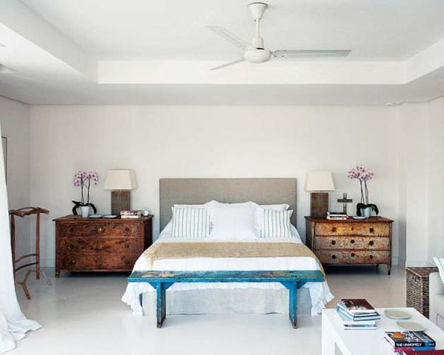 dormitor vintage - realizare Enrique Johansson
