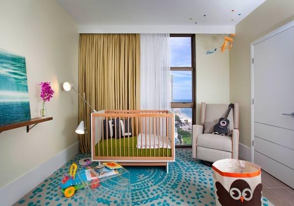 stilul modern chic in camera copilului