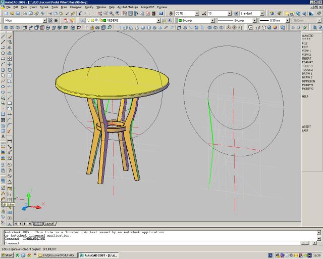 Masa rotunda - topoare cu lunetă