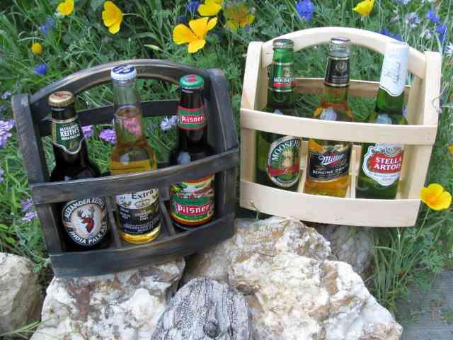 suport de bere din lemn