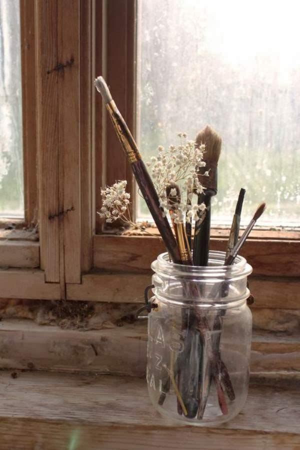 pensulele, obiecte decorative