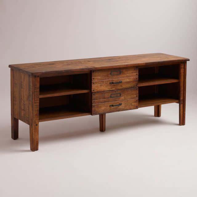mobila din lemn de trandafir - comoda rustica