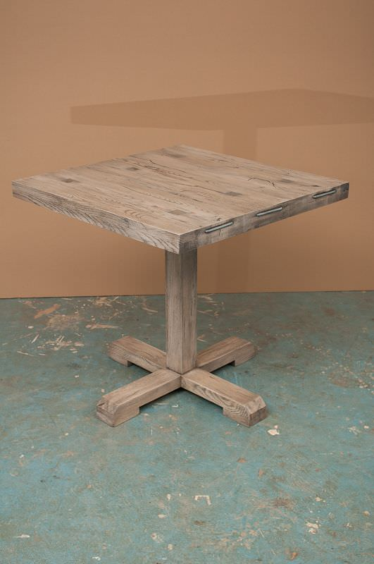 masa de bar din stejar model Viking