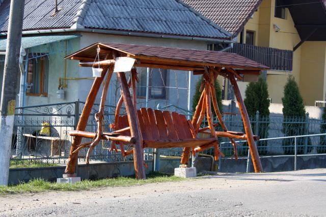 artizanat din lemn - Balansoare din lemn