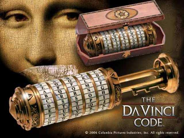 Dan Brown - Codul lui daVinci - criptex inchidere
