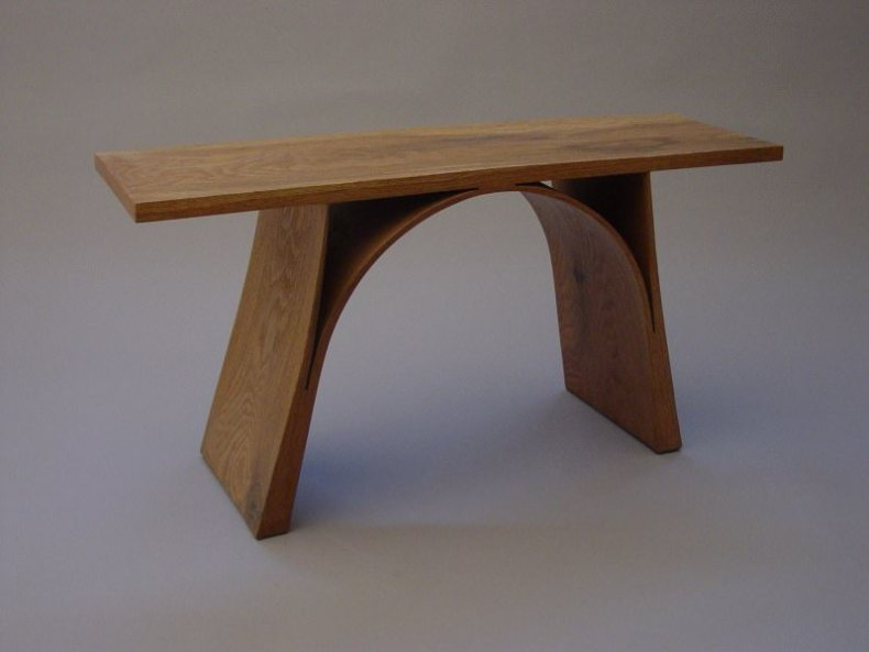 mobila din lemn masiv elemente de lemn curbate