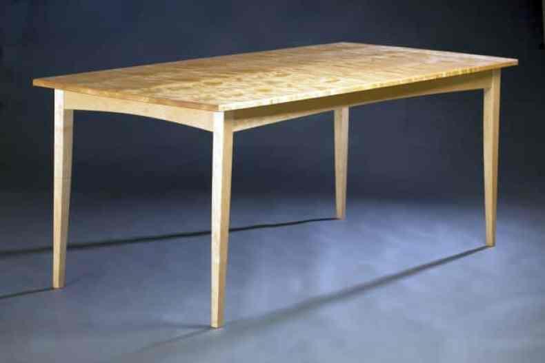 masa din mesteacan - Tim Rousseau