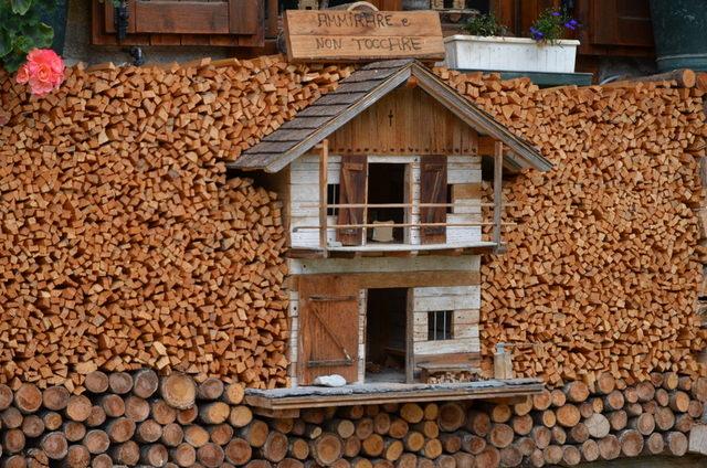 lemn de foc - casuta