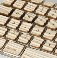 Sablarea lemnului - tastatura