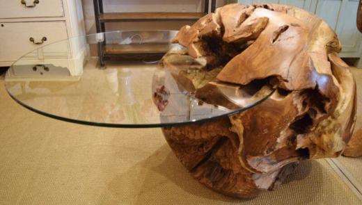Măsuțele de cafea din buturugi