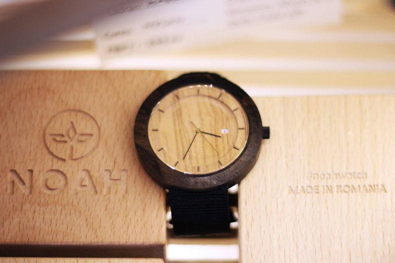 Noah - ceasuri din lemn - Made in Romania