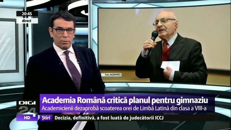despre educație si Academia Romana
