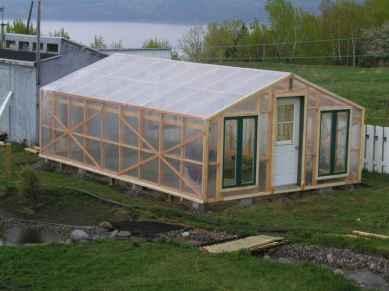 solar din lemn acoperit cu folie