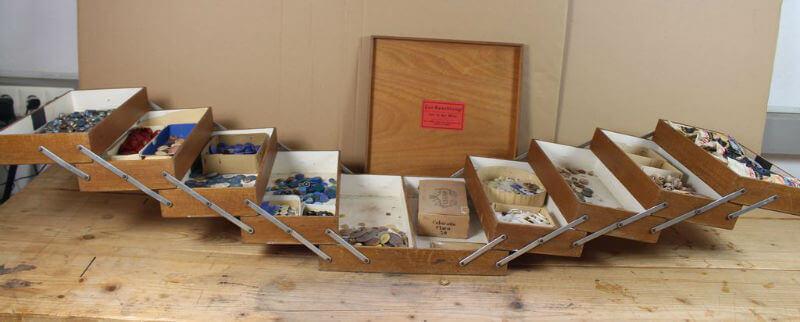 idei pentru mobilier derivat din cutii de accesorii pentru cusut