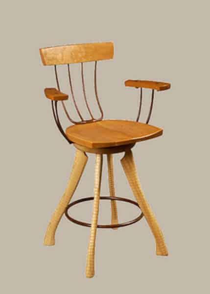 scaune din lemn cu furca