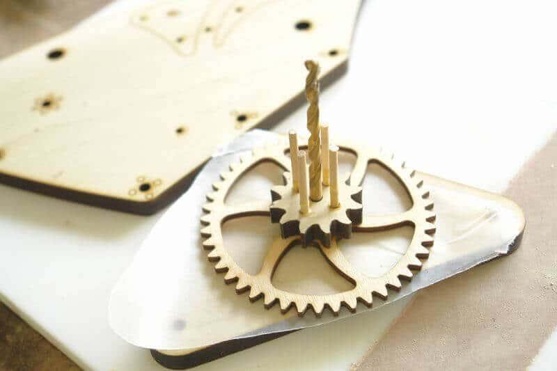 mecanism din lemn