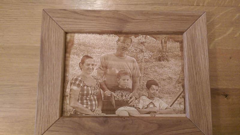 Fotogravura pe lemn