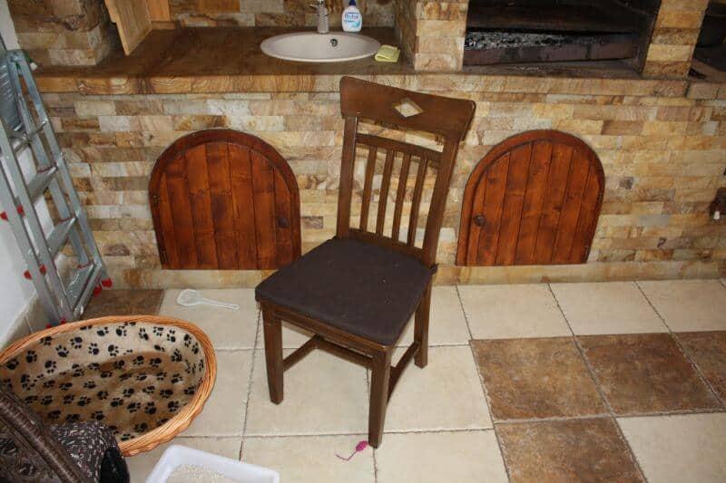 set de masa si scaune pentru terasa