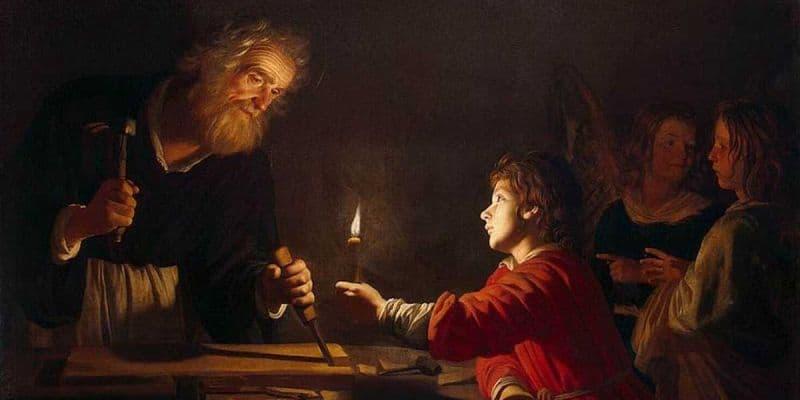 Sfantul Iosif tamplarul