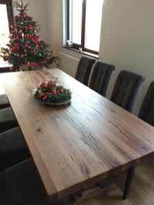 mese din stejar masiv model Gloucester