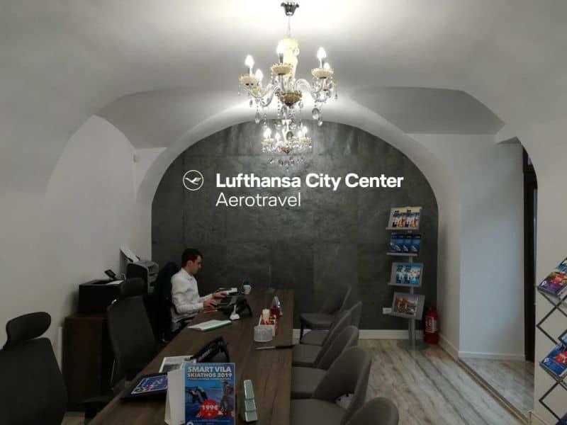 Aerotravel Lufthansa City Travel locații publice din Timișoara