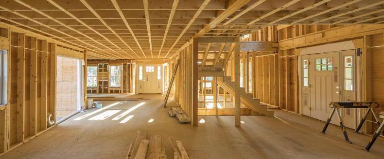 structura din lemn pentru case de locuit
