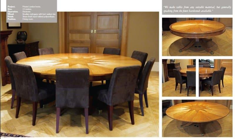 proiectul Capstan Table