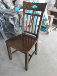 scaun din stejar Dijon - finisaj Noble Brown