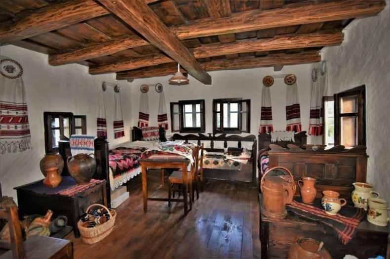 interior de casă veche