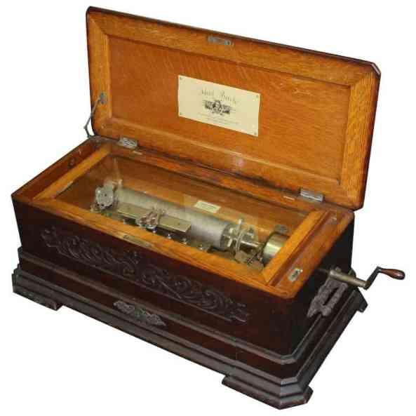 Swiss Music Box by Mermod Freres
