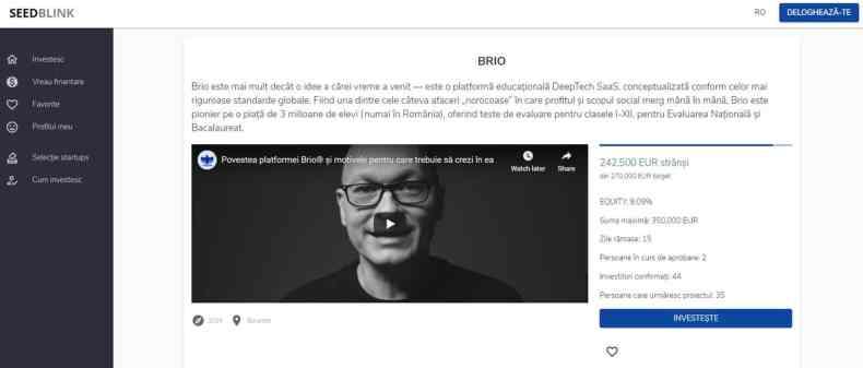 Brio.ro SeedBlink