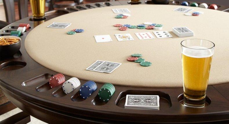 blat reversibil pentru masa de poker