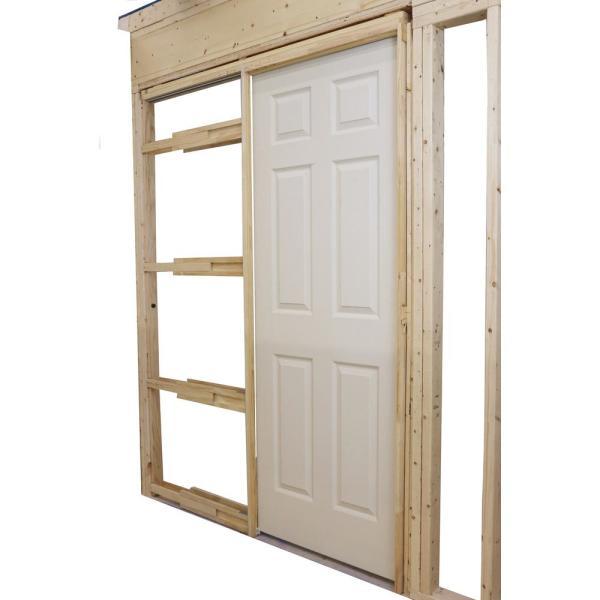 ușa glisantă în perete