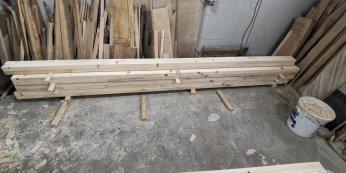 grinzi din lemn lungi de 336 cm