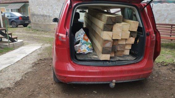 transport cherestea 12x15 cu Seat Alhambra