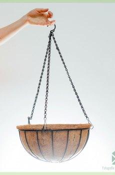 kokos coco eco hangmand - coir hanging basket