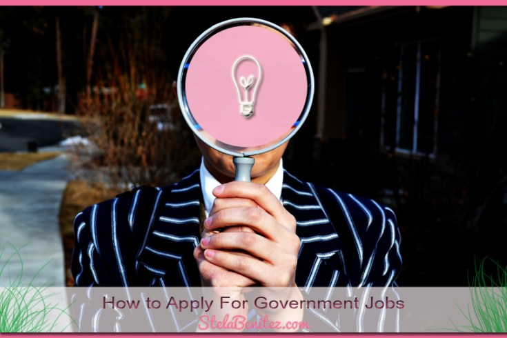 How to Apply For Government Jobs