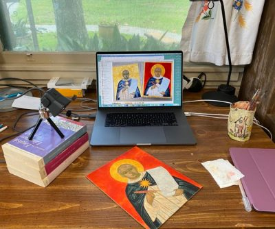Teaching Icon Painting during COVID-19